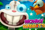 играть в игровой автомат Wonky Wabbits